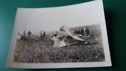 PHOTO ACCIDENT D AVION AEROPLANE APPAREIL DEBRIS  REPRO ? NON LOCALISE - Reproductions