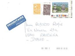 LETTERA X ITALY CON PHARE DE CHASSIRON - Fari