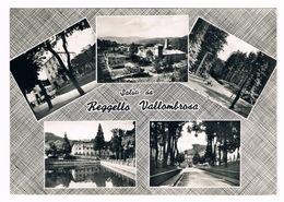 Cartolina - Postcard / Viaggiata - Sent / Saluti Da Reggello - Vallombrosa - Saluti Da.../ Gruss Aus...