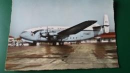 CPSM AVION AEROPORT DE MARIGNANNE MARSEILLE AIR FRANCE  BREGUET DEUX PONTS 7819 RYNER 1960 - 1946-....: Ere Moderne