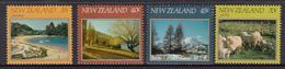 New Zealand MNH Michel Nr 845/48 From 1982 / Catw 3.30 EUR - Nieuw-Zeeland