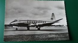 CPSM AVION VISCOUNT DE LA COMPAGNIE B E A   DANS LE CIEL DE FRANCE ED P I 26 BRITISH EUROPEAN AIRWAYS - 1946-....: Ere Moderne