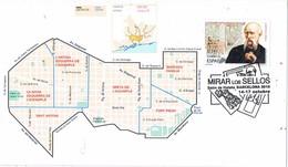 31358. Tarjeta BARCELONA 2010. Urbanismo Plan Cerda, Plano Barcelona Ensanche - 1931-Hoy: 2ª República - ... Juan Carlos I