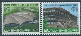 Cept 1987 Luxembourg Luxemburg  Yvertn° 1124-1125 *** MNH Cote 6,50  Euro - Europa-CEPT