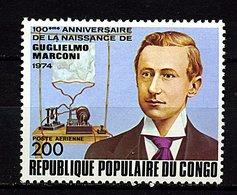 Congo ** N° 203 - Guglielmo Marconi - Congo - Brazzaville