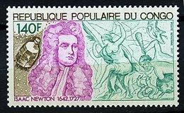Congo **  PA 238 -  Isaac Newton - Congo - Brazzaville