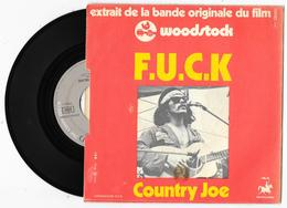 45 Tours COUNTRY JOE - F.U.C.K. Woodstock - Vanguard 119 023 De 1970 - Rock