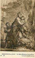 PRUD'HOM PIERRE PAUL - LA REINE HORTENSE ET SES ENFANTS - BAYONNE, MUSEE BONNAT - ART POSTAL CARD /LILHU - Koninklijke Families