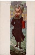 Moloch - Carte Satirique : M. Pelletan - Moloch