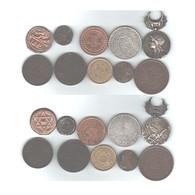 LOT DE MONNAIES MEDAILLE D AFRIQUE DU NORD - Monete