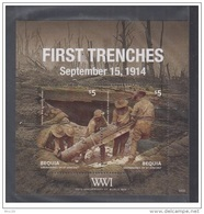 Bloc Sheet Guerre Mondiale World War 1 MNH ** St Vincent 2014 - St.Vincent & Grenadines