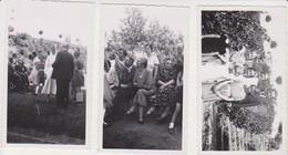 26787 Sept 7 Photo Namur Belgique - 30 Juin 1935 Famille Communiante Ou Religieuse Jardin - Lieux