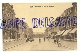 Belgique Waremme. Rue De La Station. P.I.B.. Animée. Papeterie Renkin - Waremme