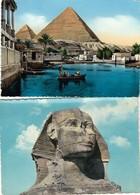 12257 - N°. 4 CARTOLINE EGITTO - FG - Egitto