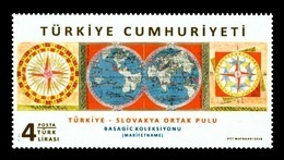 Turkey 2018 Mih. 4463 Ottoman Manuscript By Ibrahim Hakki (joint Issue Turkey-Slovakia) MNH ** - 1921-... République