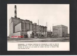 67 Bas Rhin -   Photo EDF   STRASPOURG   Centrale Thermique - Photos