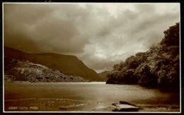Ref 1267 - Judges Real Photo Postcard - Llyn Peris Snowdonia - Caernarvon Wales - Caernarvonshire