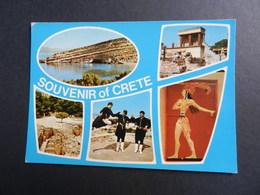 19867) SOUVENIR CRETE CRETA VIAGGIATA - Grecia