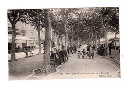 CPA 11 - Narbonne - Promenade Des Barques - France