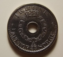 Norway 1 Krone 1951 Varnished - Norvège