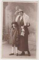 26792 Deux 2 Carte Photo Femme Enfant - Mai 1922 -Photos Jean Lemaire Av De Bruxelles Namur - Belgique