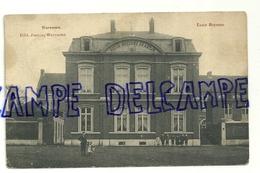 Belgique Waremme. Ecole Moyenne. Edit. : Jeanne. Animée. 1908 - Waremme