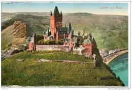 Allemagne. Cochem. Chateau Et Vignes - Cochem