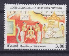 Sri Lanka 2002 Mi. 1340    3.00 (R) Roch Paintings Elefant Elephant Geschichte Von Prinz Siddhartha - Sri Lanka (Ceylon) (1948-...)