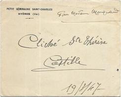 83.  HYERES.  COSTEBELLE LOT DE 2 PHOTOS DE 1947 - Hyeres