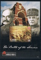 Bloc Sheet 1ere Guerre Mondiale World War 1 Somme  MNH  Neuf **  St Vincent & The Grenadines 2015 - St.Vincent & Grenadines