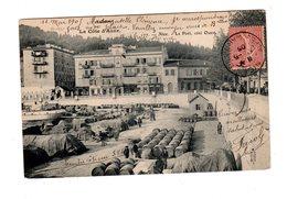 CPA 06 - Nice - Le Port , Côté Ouest - Nice
