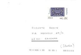 LETTERA X ITALY CON COSTITUCION EUROPEA - 1931-Oggi: 2. Rep. - ... Juan Carlos I