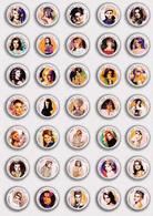 35 X Ann Margret Film Fan ART BADGE BUTTON PIN SET 5 (1inch/25mm Diameter) - Films
