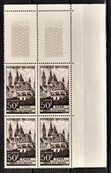 FRANCE 1951 - BLOC DE 4 TP  / Y.T. N° 917 - NEUFS** COIN DE FEUILLE - France