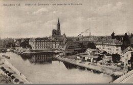 67 STRASBOURG  STRASSBURG  VUE PRISE DE LA GERMANIA - Strasbourg