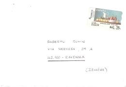 LETTERA X ITALY CON - 1931-Oggi: 2. Rep. - ... Juan Carlos I