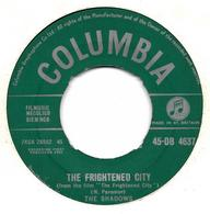 """The Shadows  """"  The Frightened City  """" - Vinyles"""