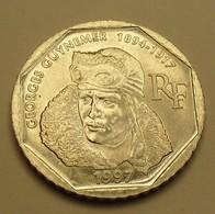 1997 - France - 2 FRANCS, Georges Guynemer, KM 1187, Gad 550 - Gedenkmünzen