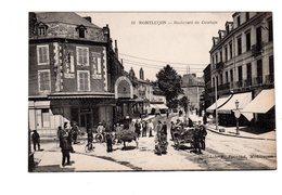 CPA 03 - Montluçon - Boulevard De Courtais , Bien Animé , Marchands , Forains ? - Montlucon
