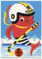 RC 11383 FRANCE 1968 JEUX OLYMPIQUES DE GRENOBLE MASCOTTE DOF HOCKEY SUR GLACE NEUVE - Giochi Olimpici