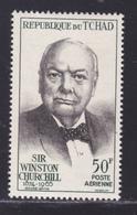 TCHAD AERIENS N°   27 ** MNH Neuf Sans Charnière, TB (D8470) Mort De Sir Winston Churchill -1965 - Ciad (1960-...)