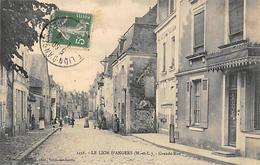 Le Lion D'Angers      49      Grande Rue     (voir Scan) - France
