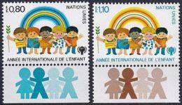 UNO GENF 1979 Mi-Nr. 83/84 ** MNH - Genève - Kantoor Van De Verenigde Naties