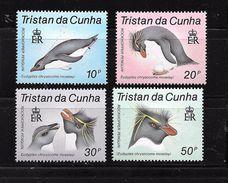 Tristan Da Cunha :1987 N°406/409 Chez Y & T - Tristan Da Cunha