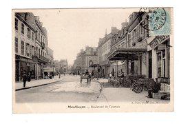 CPA 03 - Montluçon - Boulevard De Courtois , Commerce Cycles - Montlucon