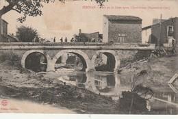 34/ Servian - Le Pont De Lène Aprés Innondations (septembre 1907) - Sonstige Gemeinden
