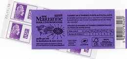 CARNET NEUF 2019 MARIANNE ENGAGEE DATE RARE - Carnets