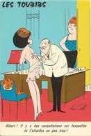 HUMOUR  /  Illustrateur  RENÉ  CAILLÉ  /  LES  TOUBIBS  /  Pin Up,  Docteur - Humour
