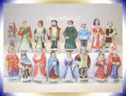 Rois Et Reines De France .. 8 Couples = 16 Fèves ... Ref AFF : 38-1994...(pan 0017) - Personnages