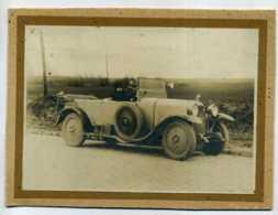 """PHOTO D'UNE AUTOMOBILE """"LA BUIRE"""" A VILLERS LES CAGNICOURT DANS PAS DE CALAIS - Automobiles"""